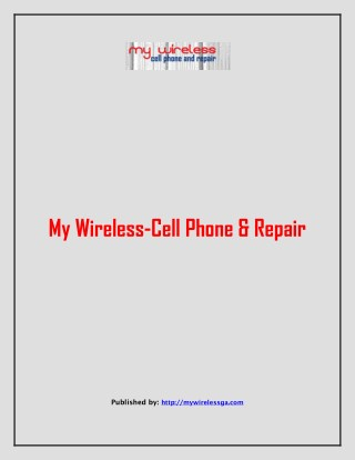 My Wireless-Cell Phone & Repair