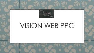 Vision Web PPC