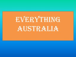 5 family-friendly things to do in Australia