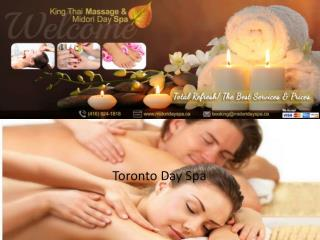 Day Spa in Toronto- Exclusive Massage Services