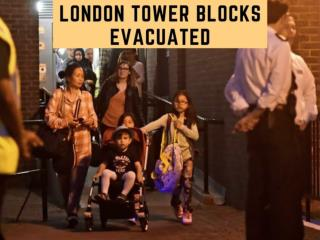 London tower blocks evacuated as 34 buildings fail fire tests