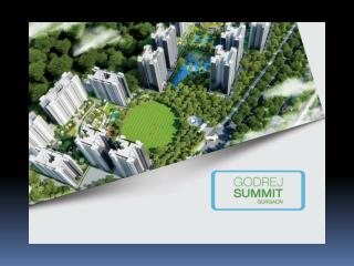 Godrej Summit in Gurgaon, Sector 104