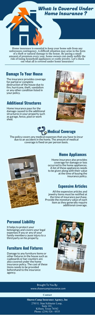 What Is Covered Under Home Insurance