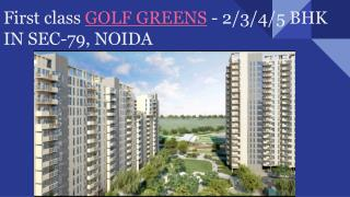 Elite Golf Greens Sector 79 Noida,
