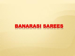 Look Great With High Quality Banarasi Sarees At Mirraw.com