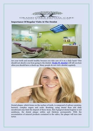 Importance Of Regular Visits At The Dentist