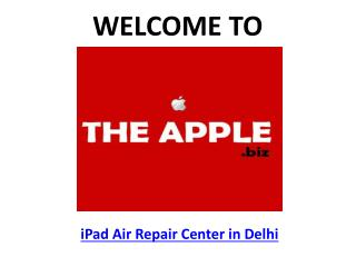 TheApple.Biz - iPad Air Repair Center in Delhi