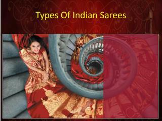 Types Of Indian sarees
