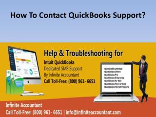 How To Contact QuickBooks Support ?