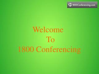 1800 Conferencing