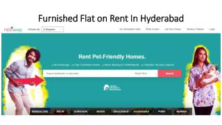 Furnished Apartments for rent in hyderabad