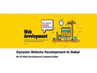 Dynamic Website Development In Dubai