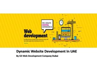Dynamic Website Development In UAE