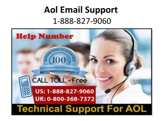 Aol Email Support - 1-888-827-9060