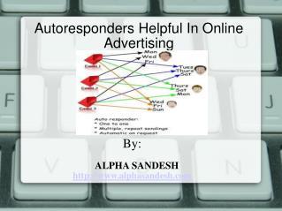 autoreponders helpful in online advertising