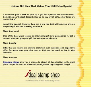 Unique Gift Idea That Makes Your Gift Extra Special