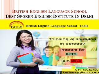 Best spoken English institute in Delhi