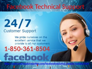 Should I believe in Facebook Technical Support 1-850-361-8504 techies or not?