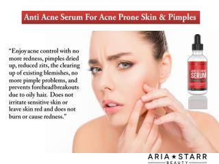 Anti Acne Serum for Acne & Pore Minimize