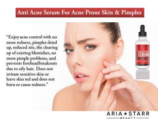 Anti Acne Serum for Acne & Pore Minimize
