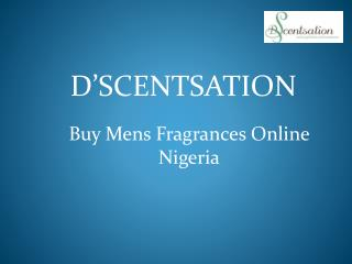 Buy Mens Fragrances Online nigeria