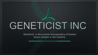 Tissue Procurement | Geneticist Inc