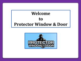 Supply a Variety of High Security Window and Door Protection Bars in Detroit