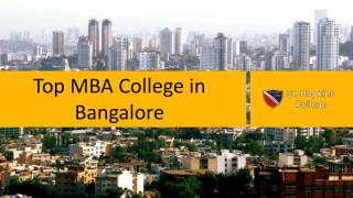 Hopkins - Top MBA College in Bangalore