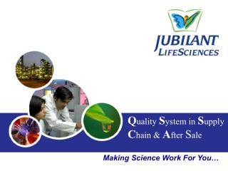 Making Science Work For You