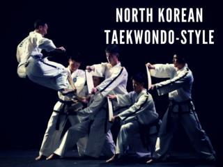 North Korean ITF Taekwondo