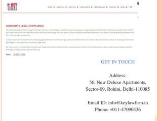 Corporate legal firms in Delhi