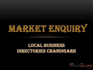 Local Business Directories Chandigarh