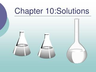 Chapter 10:Solutions