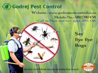 Get Pest Control Noida Services by Godrej Pest Control