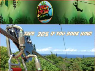 Maui Zipline Tours