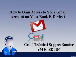 How to Gain Access to Your Gmail Account on Your Nook E-Device?