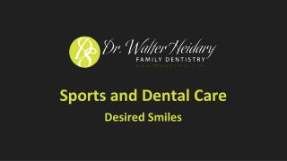 Sports and Dental Care