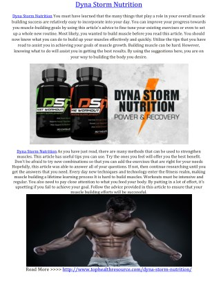 http://www.tophealthresource.com/dyna-storm-nutrition/