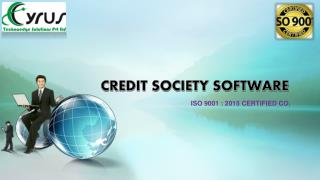 Latest Credit Society Software in India