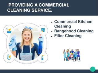 Commercial kitchen Cleaning Sydney