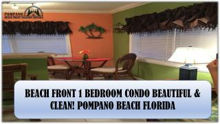 Vacation Rentals Pompano Beach FL