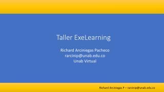 Taller exe-learning