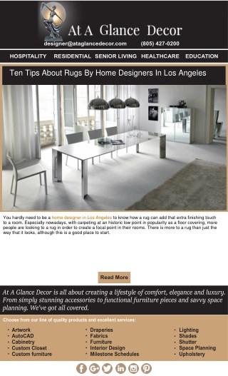 Residential interior designers Santa Monica