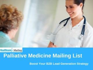 Palliative Medicine Mailing List