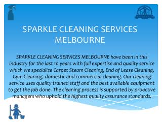 Carpet  Cleaning Melbourne - Sparkle Office