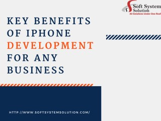 Things to be know before go for Iphone App Development Services