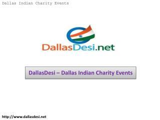 DallasDesi – Dallas Indian Charity Events