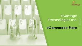 E-Commerce Store Setup and Management - Hvantage Portfolio