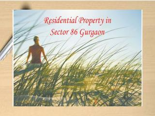 Residential Property in Sector 86 Gurgaon