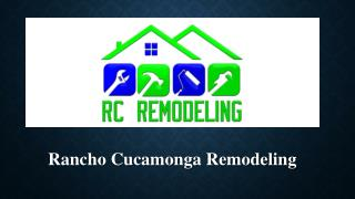 Rancho Cucamonga Remodeling Service